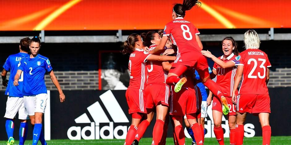 L'Allemagne tenue en échec, les Russes créent la surprise — Euro-dames
