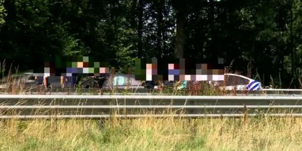 Course-poursuite sur la E19 à Seneffe: le seul homme en fuite a été interpellé - La DH