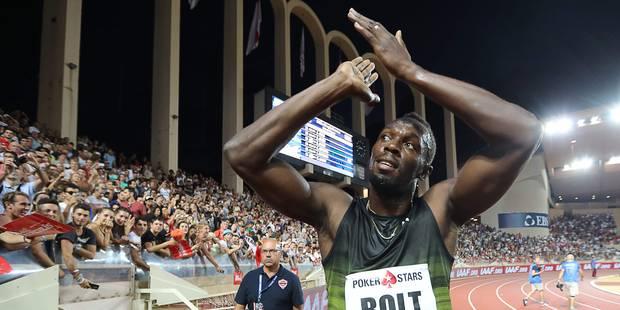Usain Bolt a couru son dernier 100m en meeting (VIDEO) - La DH