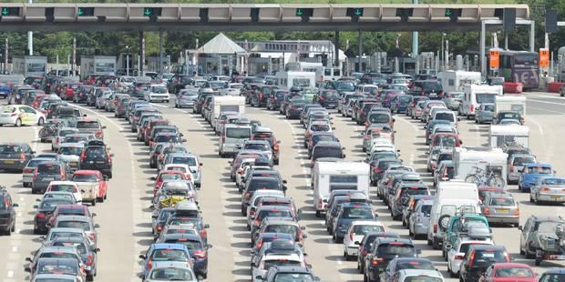 Départs en vacances: Journée rouge sur les routes des vacances - La DH