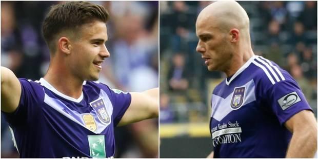 Dendoncker et Nuytinck de retour à Anderlecht - La DH