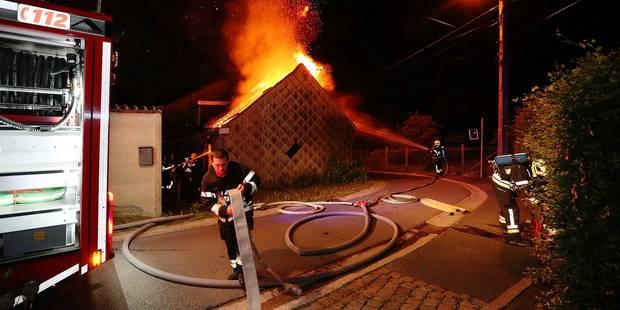 Maison volontairement incendiée à Chastre : trois ans de prison - La DH