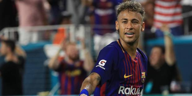 Le FC Barcelone bloque le paiement d'une prime de 26 millions à Neymar - La DH