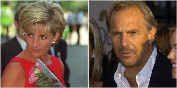 Lady D aurait eu 20 amants dont ... un certain Kevin Costner - La DH