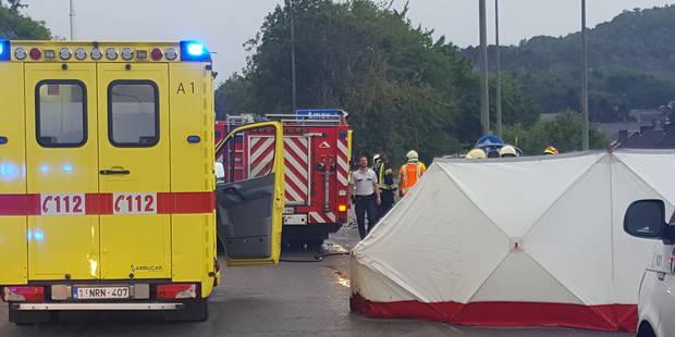 Un Hutois perd la vie dans un tragique accident sur la N 684 à Ampsin - La DH