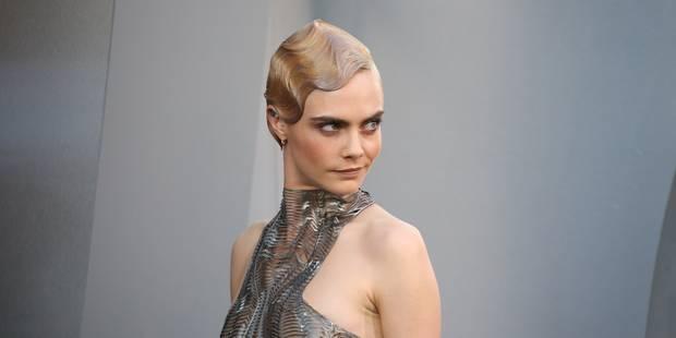 Cara Delevingne : ses looks futuristes pour la promo de Valerian - La DH