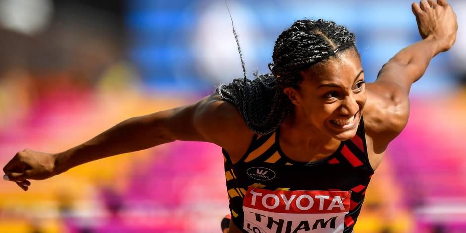 Athlétisme: la Belge Nafissatou Thiam sacrée à l'heptathlon