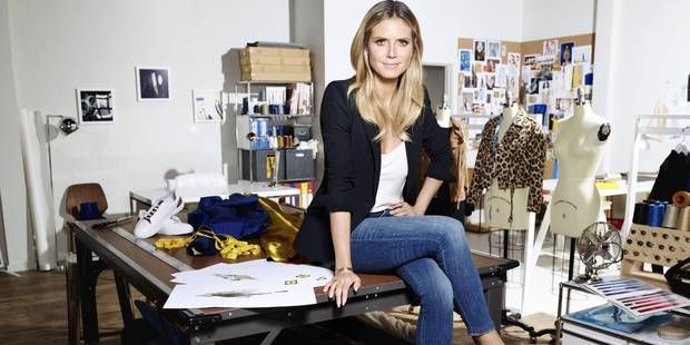 Le top Heidi Klum lance une collection de vêtements chez... Lidl ! - La DH