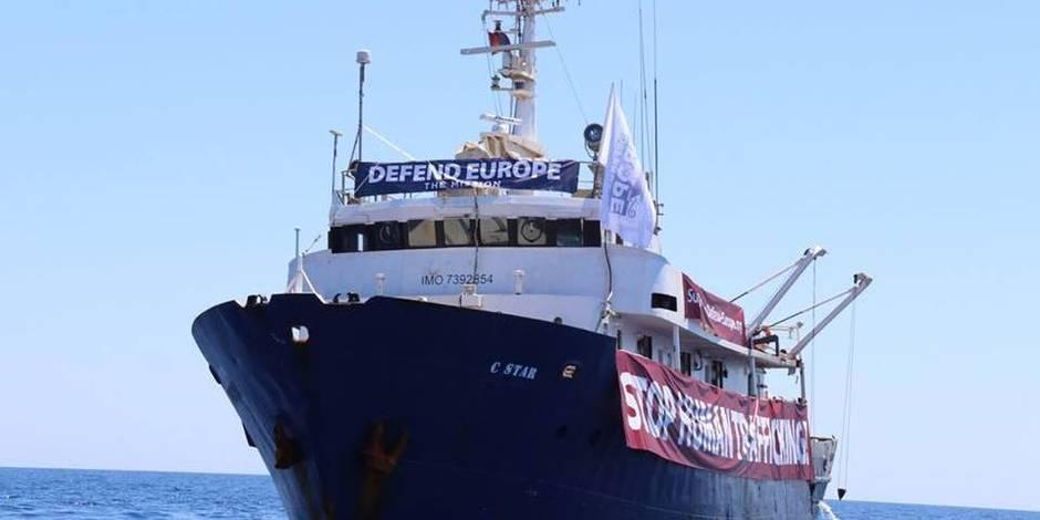 Une ONG allemande déroutée vers le navire anti-migrants en difficulté
