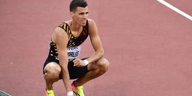 Kevin Borlée tiendra bien sa place dans les séries du 4X400m