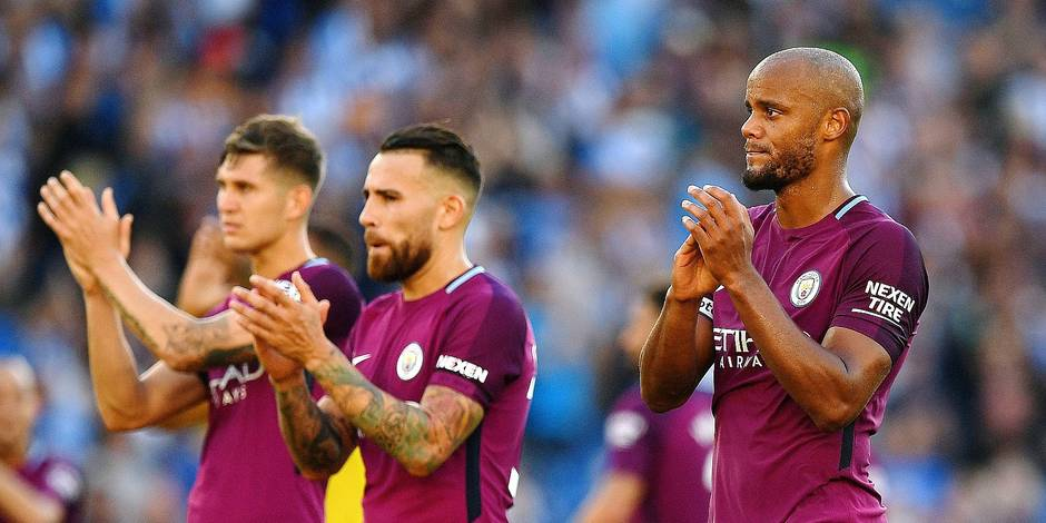 EN DIRECT / LIVE. Brighton & Hove Albion - Manchester City Premier League - 12 août 2017