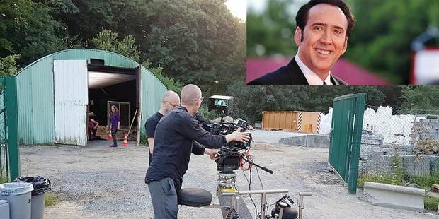 Nicolas Cage en tournage à Lasne - La DH