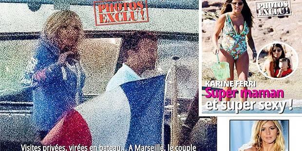 Voici dévoile des clichés du couple Macron en vacances (PHOTOS) - La DH