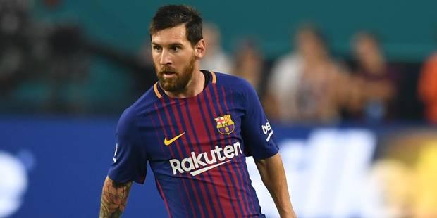 Le journal du mercato (20/08): la folle rumeur qui écarte Messi du Barça - La DH