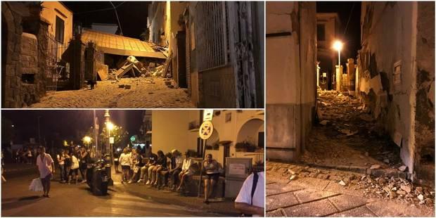 Séisme en Italie près de Naples: deux femmes décédées, un 2e enfant secouru, le 3e est en cours - La DH