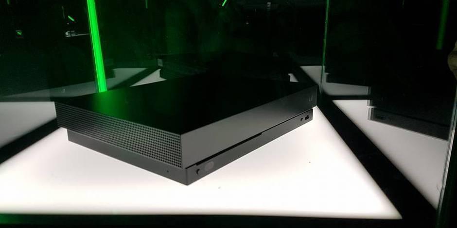 Gamescom : une édition spéciale Project Scorpio pour la Xbox One X