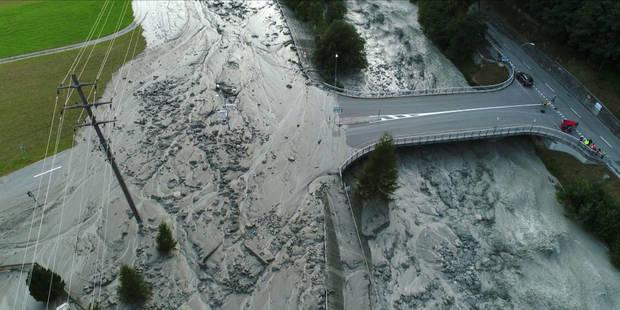 Glissement de terrain dans les Alpes en Suisse: 6 personnes retrouvées en Italie (PHOTOS et VIDEO) - La DH