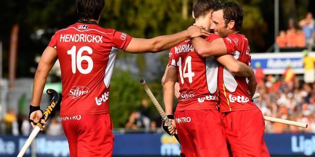 Euro de hockey : La Belgique en finale ! (2-2; 2-0 shoot-outs) - La DH