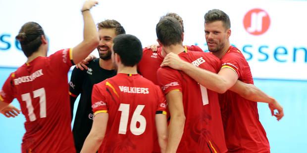 Euro de volley: exploit de la Belgique qui bat la France (3-2) - La DH