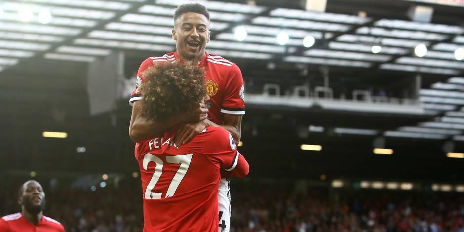 Man Utd enchaîne contre Leicester — Premier League