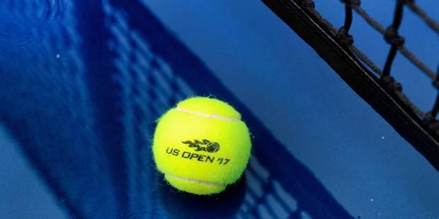 US Open: les matchs des courts extérieurs annulés à cause de la pluie, dont ceux de Goffin, Darcis et Flipkens - La DH