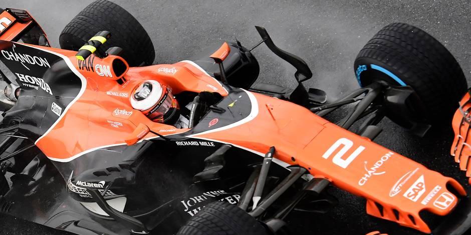 Stoffel Vandoorne en 4ème ligne dimanche — GP de Monza