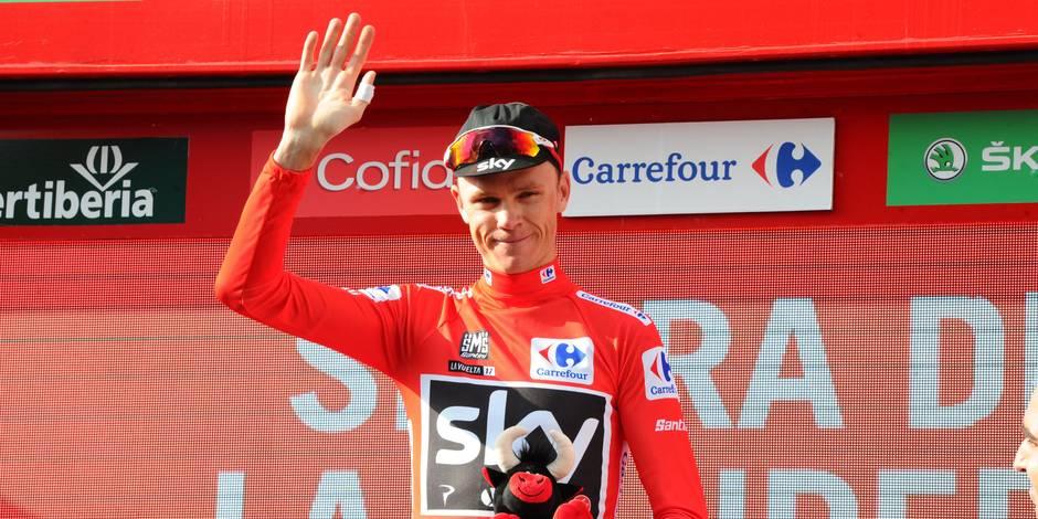 Tour d'Espagne. Déjà leader, Froome s'impose en patron sur le chrono