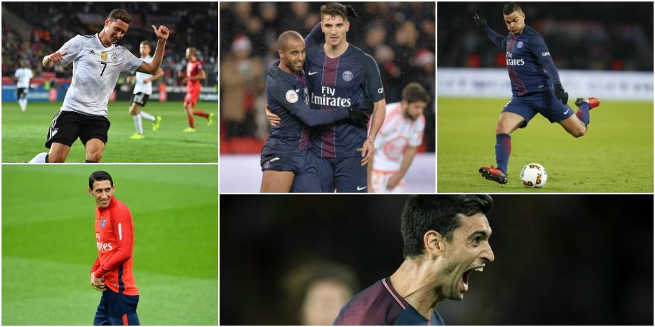PSG - Draxler sous le charme de Mbappé et Neymar
