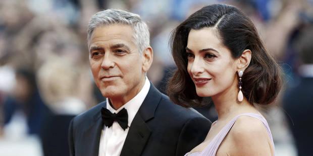 Retour glamour des Clooney sur le tapis rouge - La DH