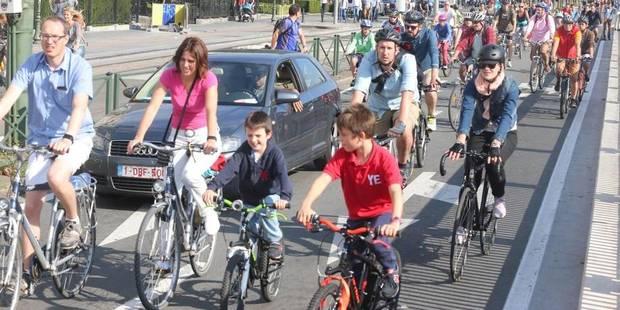 Le vélo sera la grande vedette de la semaine bruxelloise de la mobilité - La DH
