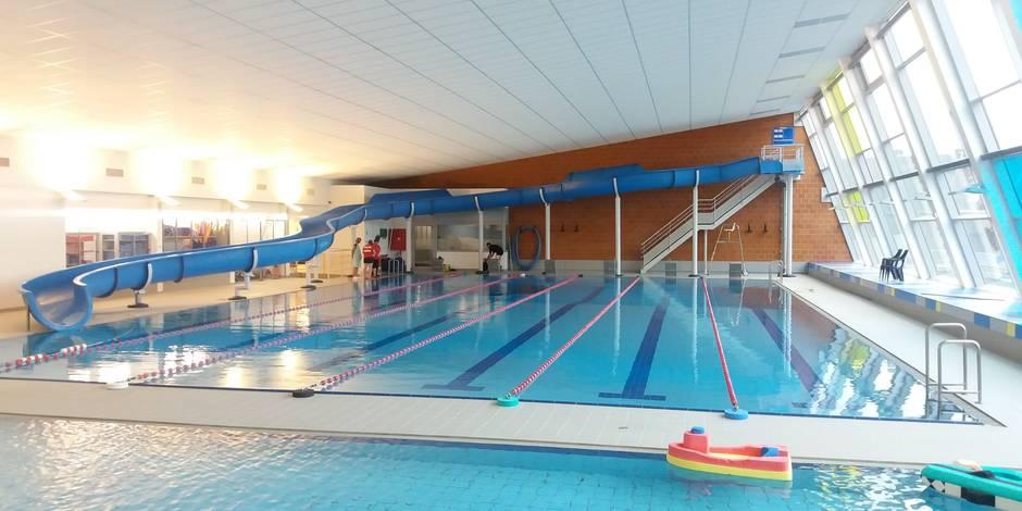 Namur la piscine de saint servais ouvre le 18 9 visite for Horaire de piscine reims
