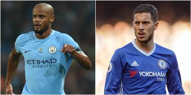 Belges à l'étranger: Kompany absent en raison d'une blessure au mollet, Hazard de retour avec Chelsea - La DH
