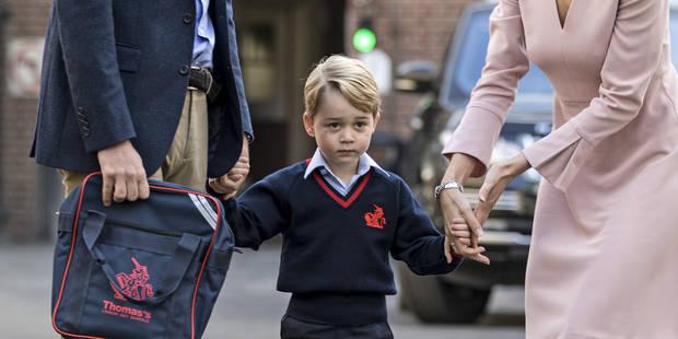 Voici la photo officielle de la rentrée scolaire du Prince George - La DH