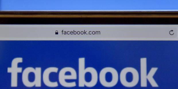 Le réseau social Facebook condamné pour atteinte à la protection des données - La DH