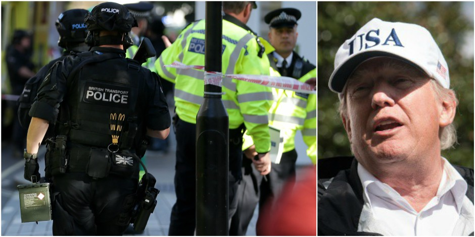Trump critique l'efficacité de Scotland Yard, Theresa May s'agace — Attentat à Londres