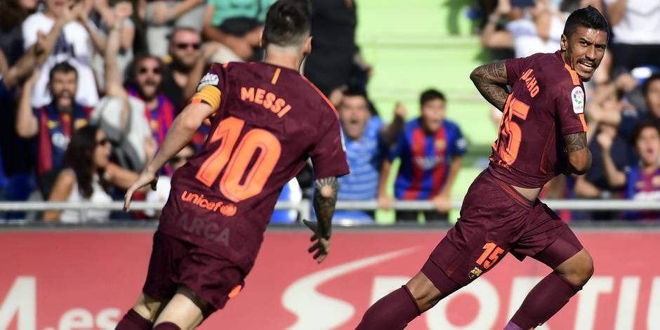 Le FC Barcelone s'en sort de justesse face à Getafe — Liga
