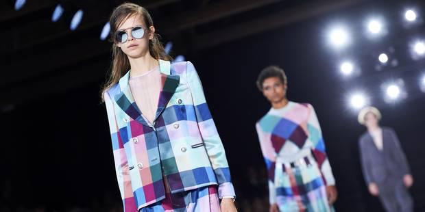 Fashion Week de Londres: Armani, Versus Versace, la leçon italienne - La DH