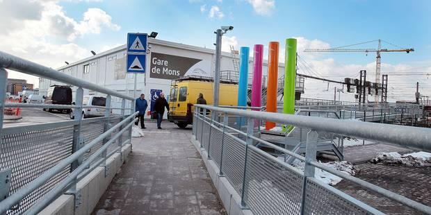 Les verts grognent sur l'accessibilité de la gare de Mons - La DH