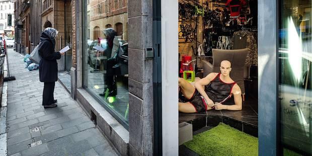 Une mère de famille outrée par l'arrivée d'un sex-shop près de la Grand-Place de Bruxelles - La DH
