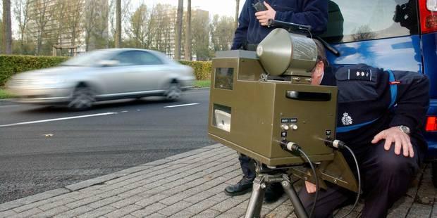 Chastre : une voiture flashée à près de 130 km/h au lieu de 50 ! - La DH