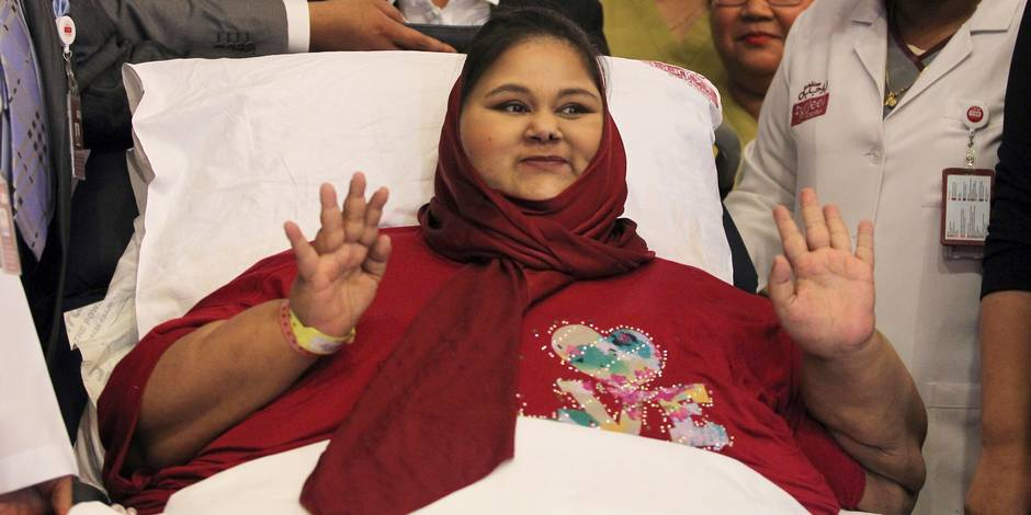 L'Egyptienne qui pesait 500 kg est décédée à Abou Dhabi