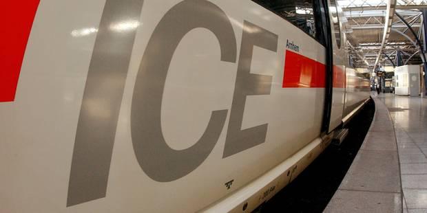 Soumagne: un train ICE en panne dans le tunnel, 250 passagers évacués - La DH