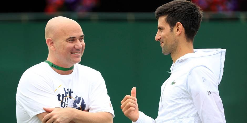 Agassi continue de coacher Djokovic — ATP