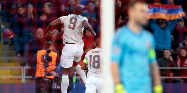 Romelu Lukaku claque un doublé en une demi-heure au CSKA Moscou (VIDEOS) - La DH
