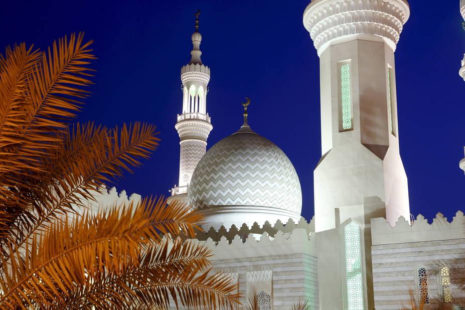 La grande mosquée de Ras Al Khaimah, Sheikh Zayed.