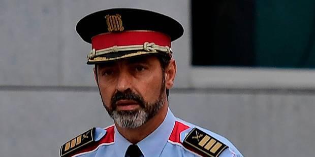 Référendum en Catalogne: le chef de la police catalane devant la justice à Madrid pour sédition - La DH