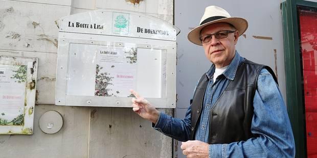 Ixelles: Un individu revend des livres piqués dans une boîte d'échange - La DH