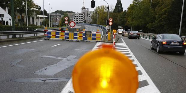 Fermeture d'Herrmann-Debroux: Auderghem conseille d'éviter Delta pour quitter la ville - La DH