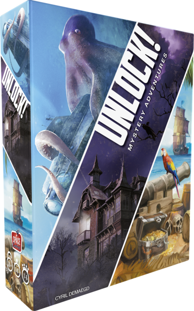 Jeux de société famille :  Unlock - Asmodee