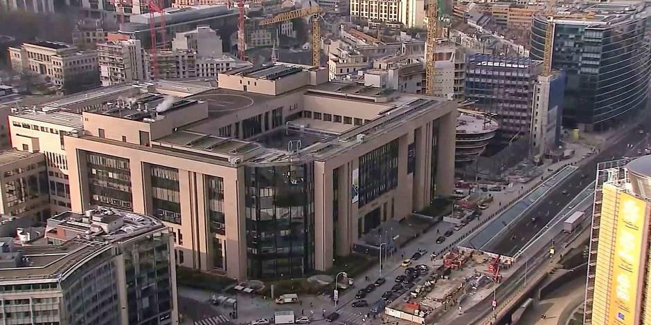 13 personnes intoxiquées dans un bâtiment de l'UE — Bruxelles